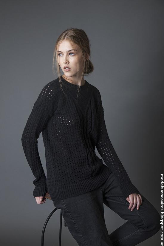 Sweaters invierno 2016 ropa de mujer Bled. Moda 2016.