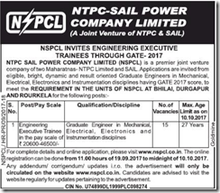 NSPCL Recruitment