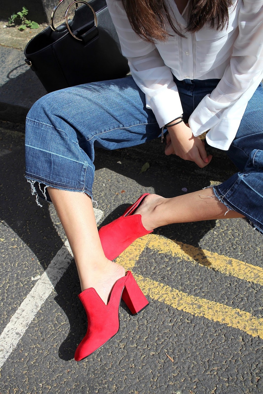 red mules next peexo spring style