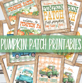 Pumpkin Patch Printables are Finally Here!!