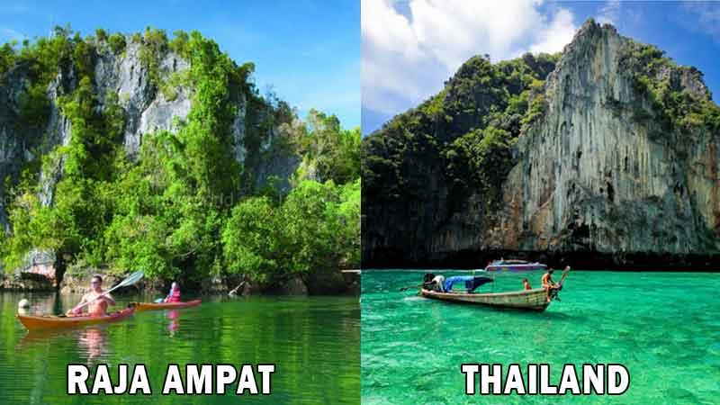 Raja Ampat vs Thailand