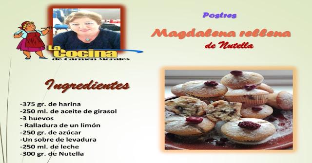 Magdalena de Nutella