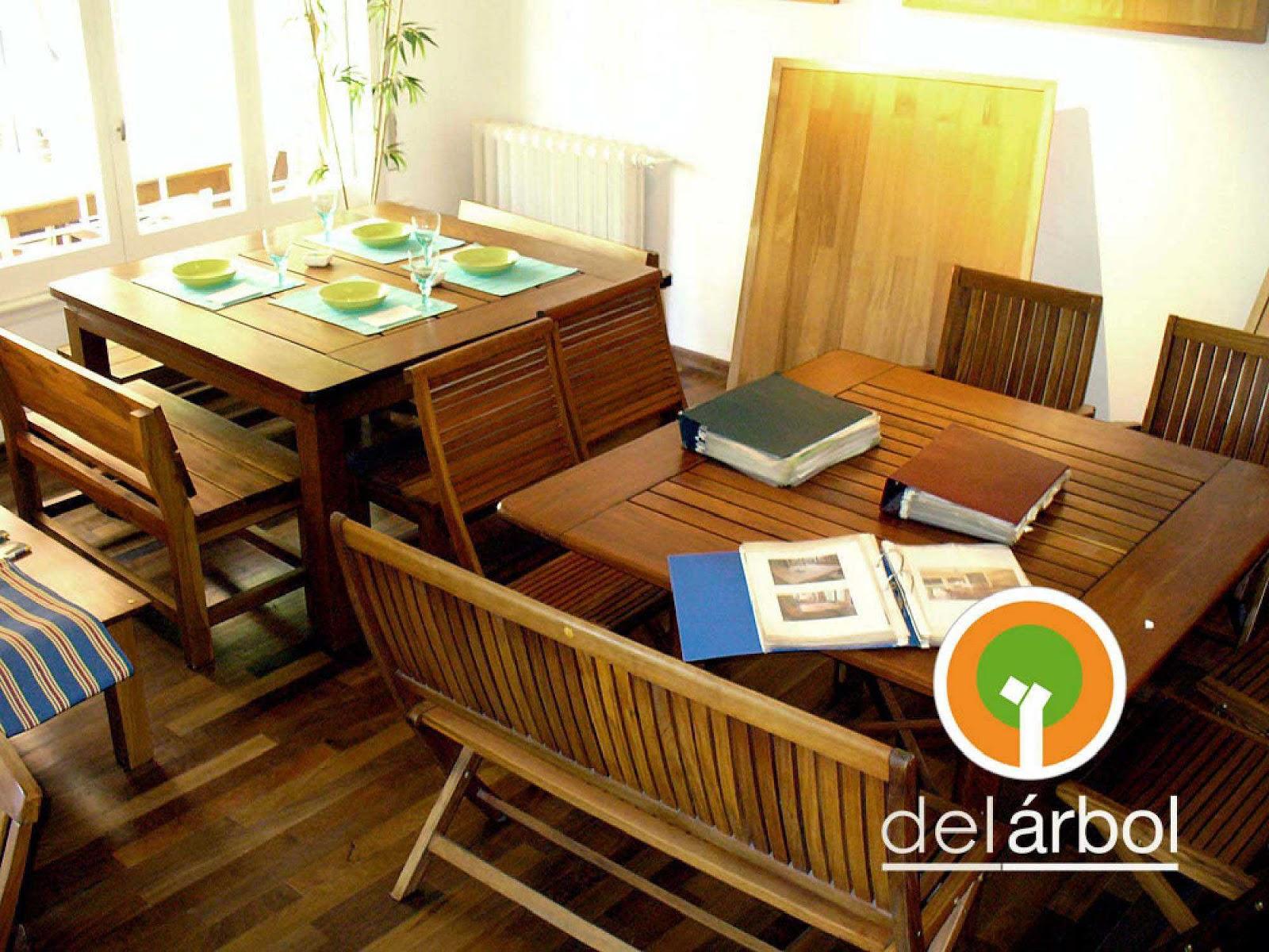 Del-Arbol | Fábrica de Muebles de Madera: Mesa Longo de ...
