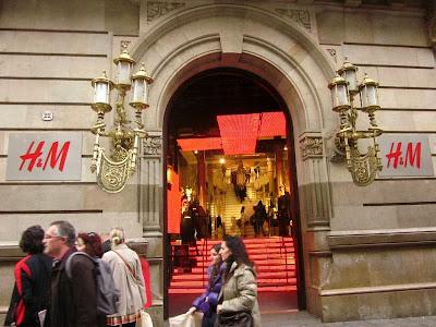 HM in Barcelona