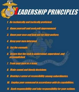 Marine Corps Leadership Principles