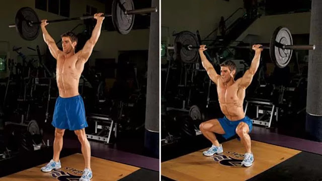 BEST EXERCISES YOU'RE NOT DOING - Overhead Squat