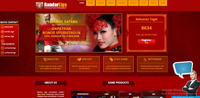 Website Agen Bola Online Dan Casino Online Terpercaya