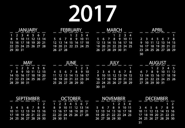 ... New Year 2017 Calendar   Happy New Year 2017 Calendar free download