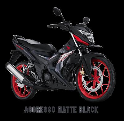 New Honda Sonic 150R Aggresso Matte Black