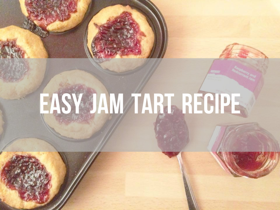 Easy jam tart recipe