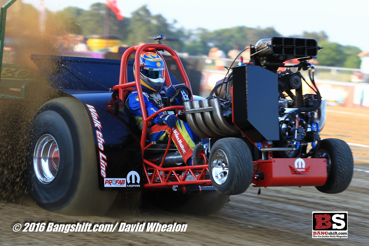 Tractor Pulling News - Pullingworld com: The new Walk the Line