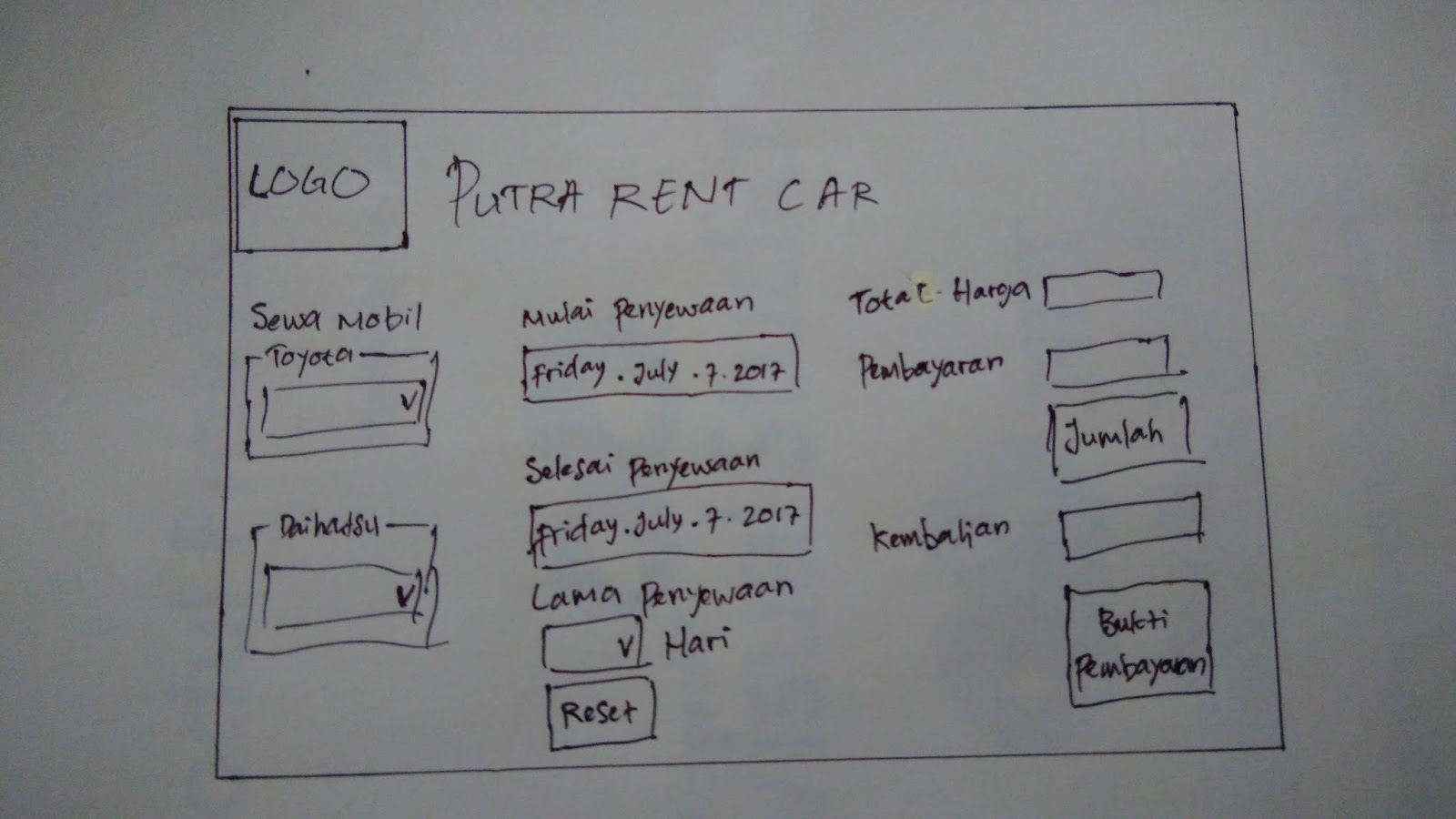 Project UAS | Program Rent Car Menggunakan VB.NET