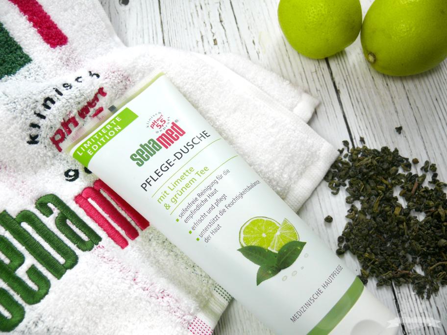 Sebamed Pflege Dusche Limette Grüner Tee