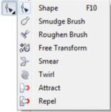 Fungsi Lengkap Toolbox pada CorelDraw