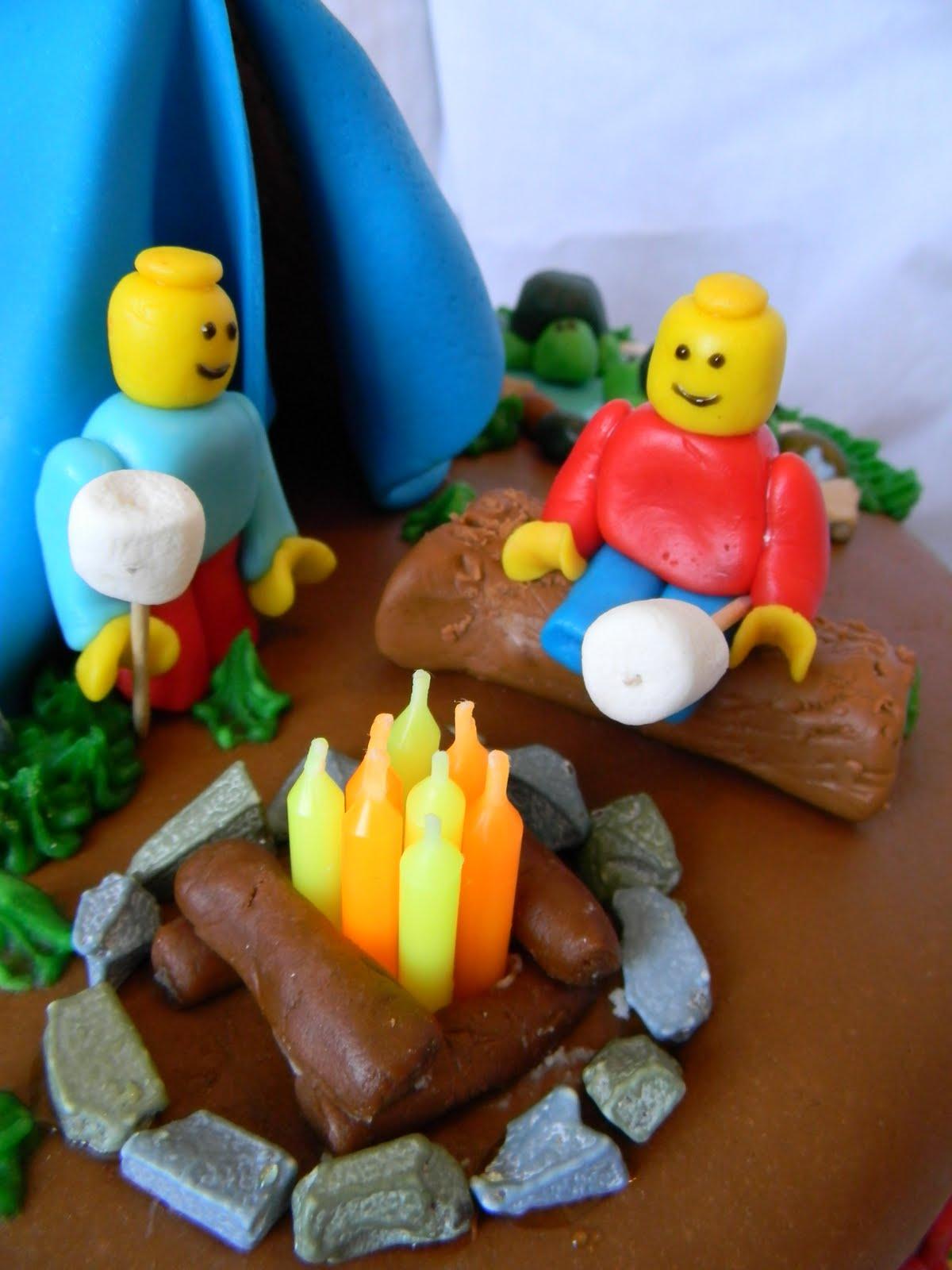 Jesicakes Camping With Legos Cake