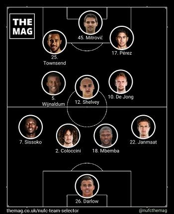 formasi 4-3-3 (4-3-2-1 Attacking) The Toon untuk menewaskan formasi 4-5-1 The Saint