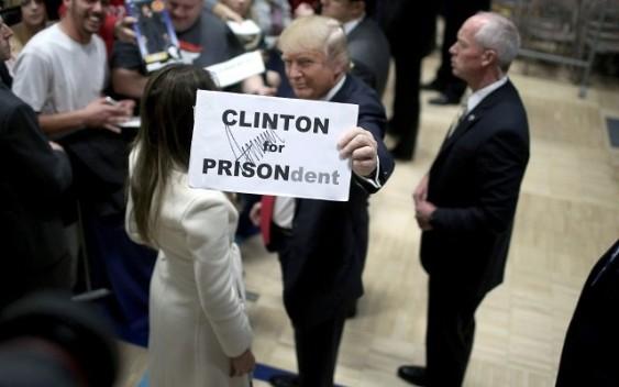 Trump Diselar Kerana Mahu Penjara Hillary Clinton Jika Menang