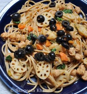 Whole wheat Spaghetti from leonardo : my way of eating healthy...