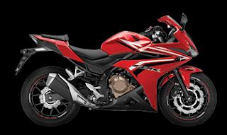 Honda CBR500R terbaru 2016 red merah
