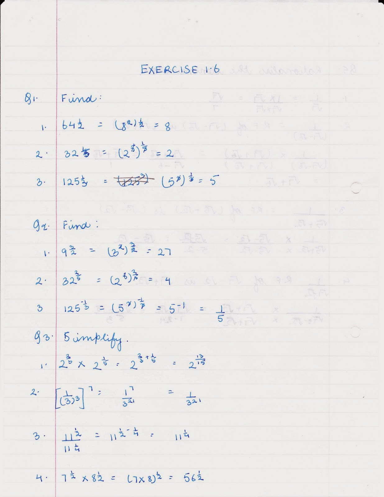 MY HOMEWORK: Maths NCERT Solutions for Class 9: Chapter 1