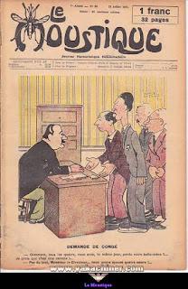 Le Moustique, Journal Humoristique Hebdomadaire, numéro 28, année 1931
