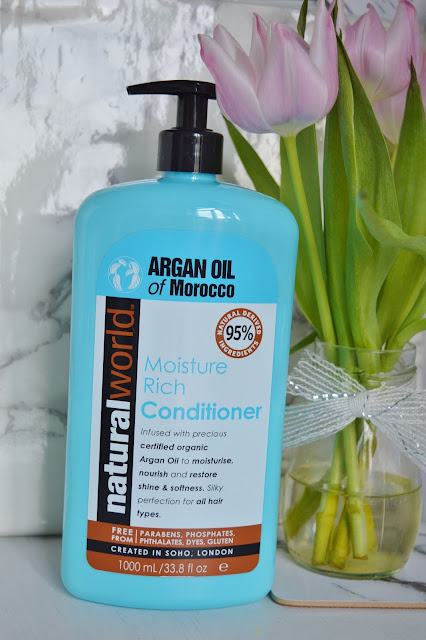 Natural World Moroccan Argan Oil Range