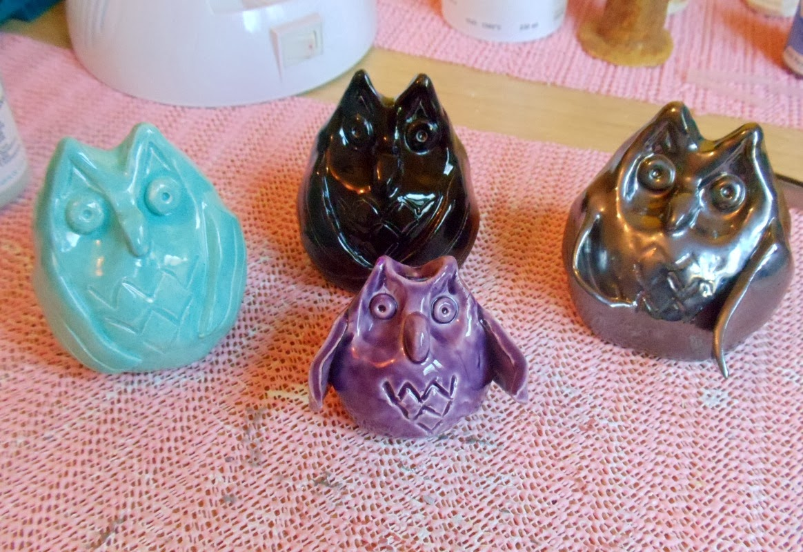 How to make ceramic owls