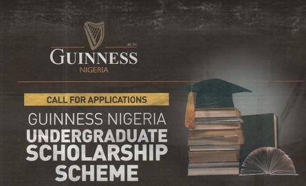 Apply For Guinness Nigeria Undergraduate Scholarship Scheme 2018/2019