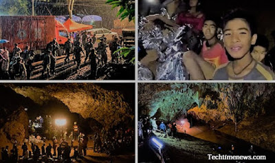 Thailand Begins Rescue Operation In Cave