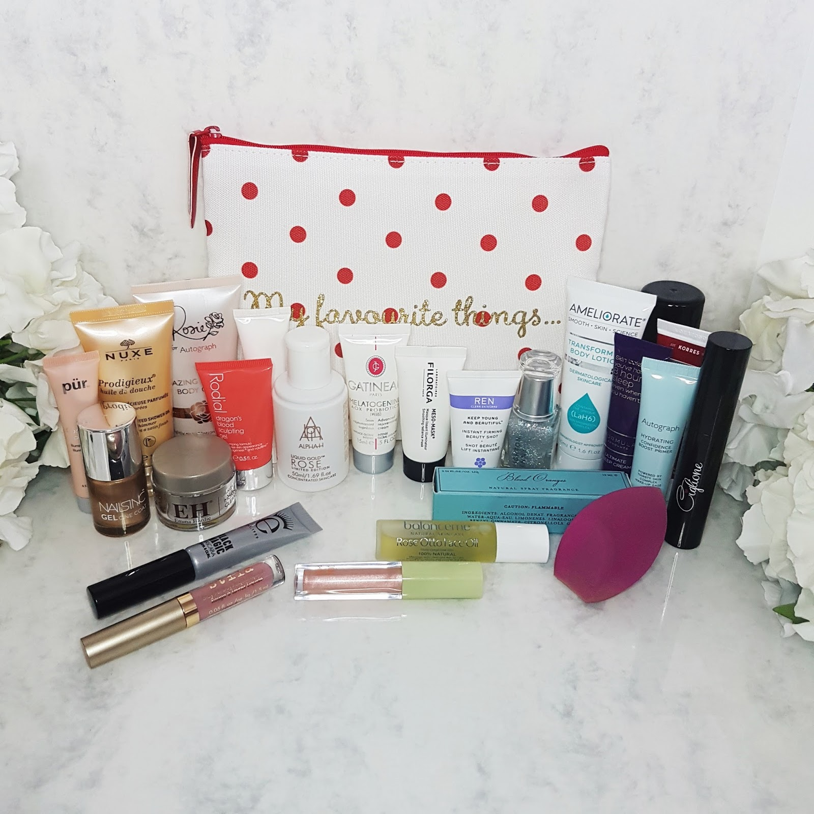 Products from Marks and Spencer Beauty Advent Calendar