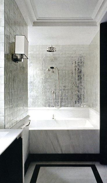 This Glam Bathroom Lets You Relax inwards Style Adding Glam Touches: Over l Home Interior Designs