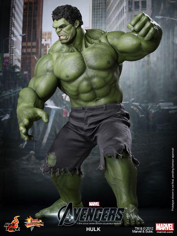 That Figures: NEWS: Hot Toys Marvel's The Avengers Hulk