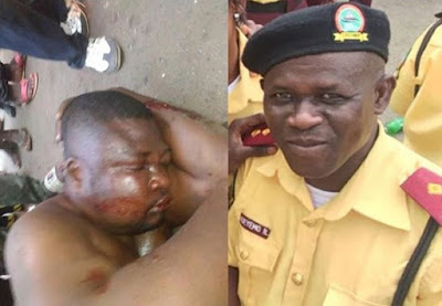 SARS officer beaten, arrested after killing Lastma official on duty