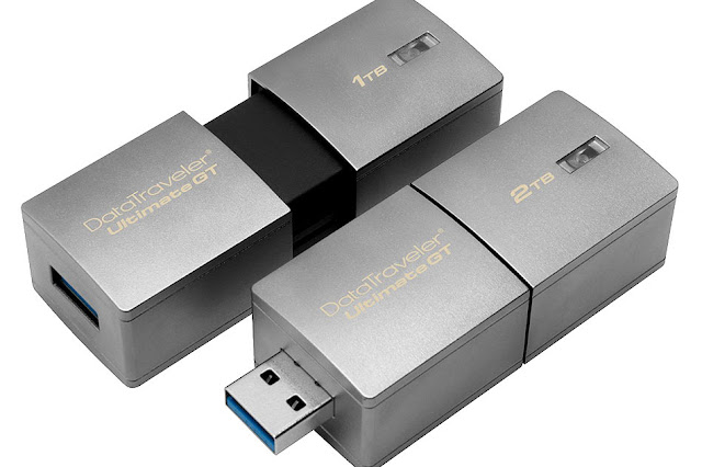 Kingston Releases 2-Terabyte USB Drive, The Largest USB Drive Yet!