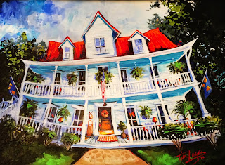 Mount Victoria Smiling, Bed and Breakfast, Eureka Springs by Tim Logan