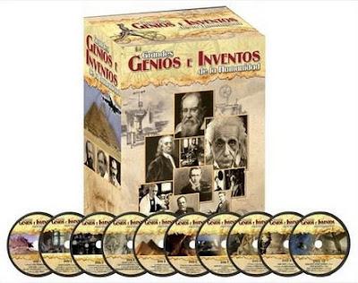 Grandes Genios e Inventos de la Humanidad [10 DVDs Completo]