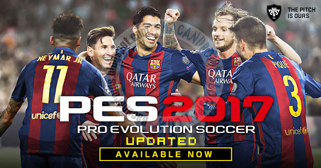 Game PES 2017 Apk Data Obb Terbaru For Android