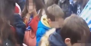 Βίντεο-σοκ: Μικρά παιδιά «πνίγονται» από τα χημικά στο συλλαλητήριο