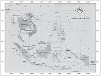 Kondisi Iklim dan Peta Letak Geografis Asia Tenggara Beserta Negara-negara yang Termasuk Didalamnya