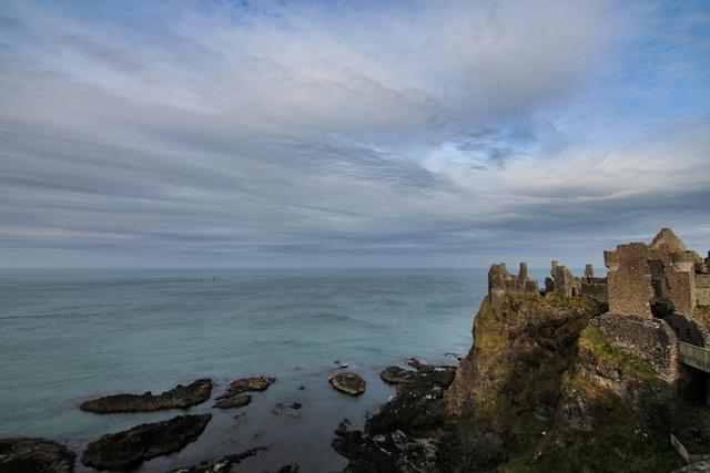Castillo Dunlece que da vida al Castillo Pyke de Islas del Hierro