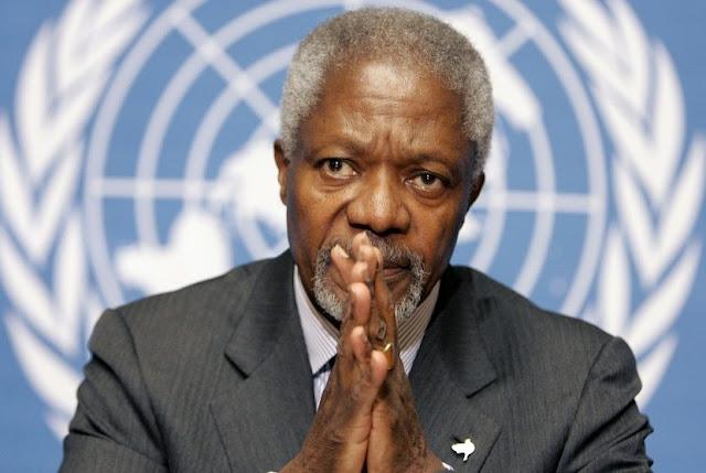 Kofi Annan Minta Indonesia Bantu Rohingya