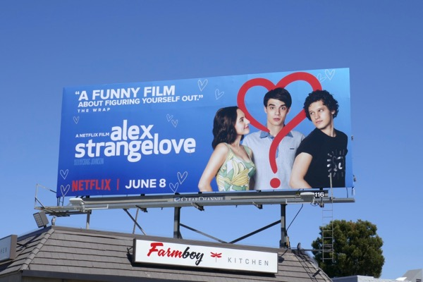 Alex Strangelove film billboard