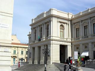 The Teatro Cilea in Reggio di Calabria