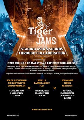 tiger jams showcase 2016