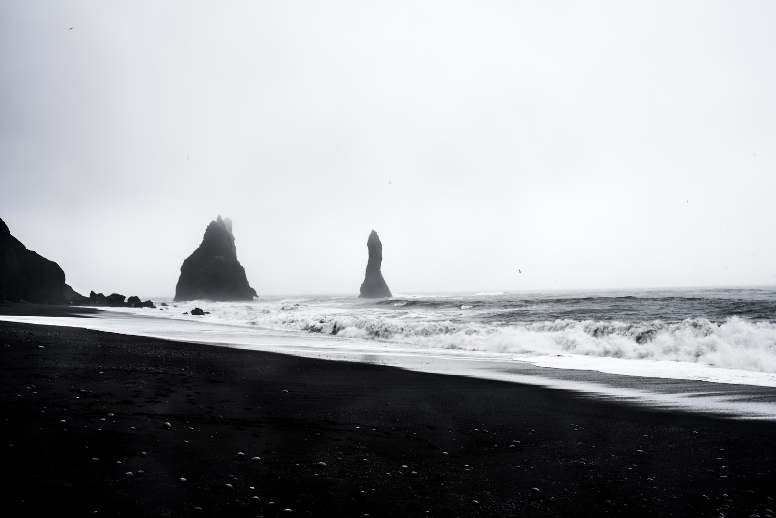von vogue iceland travel black sand beach Reynisdrangar