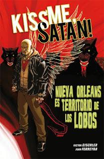 KISS ME SATAN  Comic Americado de Victor Gischler y Juan Ferreyra