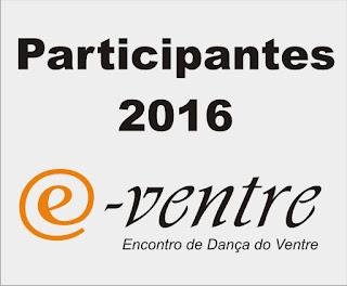 Participantes E-Ventre 2016