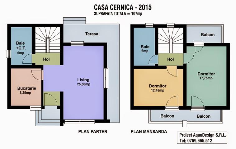 Proiecte case mici for Case de 100 mp