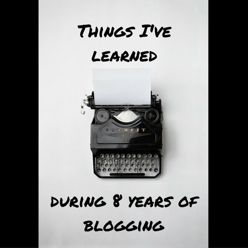 Stitch & Bear - Blogging lessons I've learned