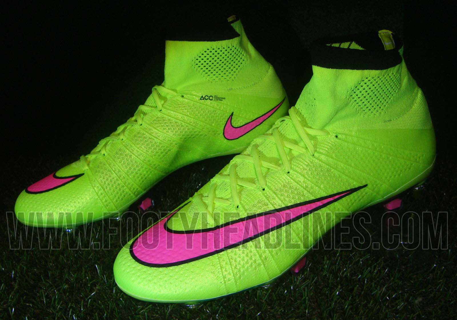 new product 8029c e0abd Volt Nike Mercurial Superfly 2015 Boot Leaked